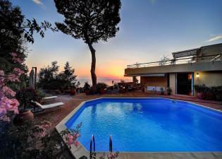 Villa Capri vue Massa Lubrense