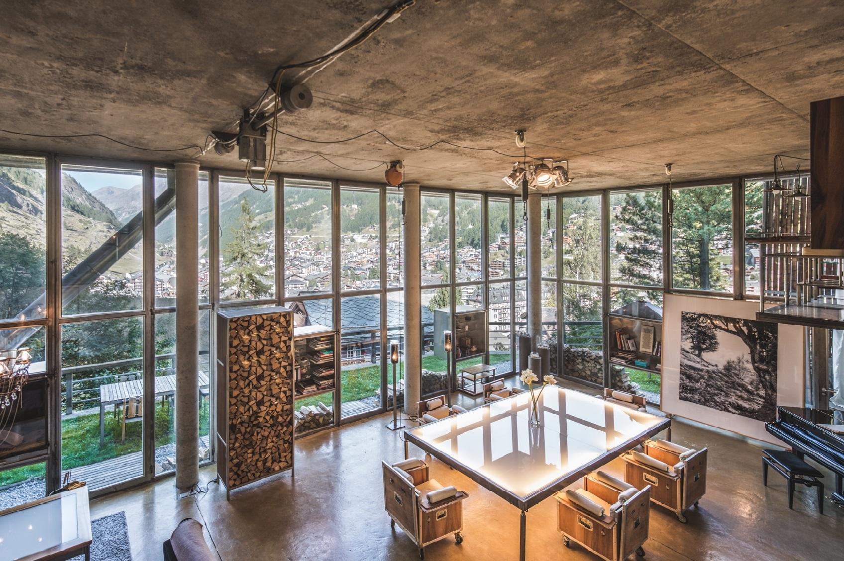 Gallery images Heinz Julen Loft Zermatt